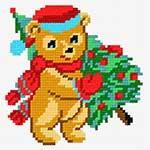 N·1204: Ведмедик з ялинкою