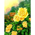 O·015: Живопліт з жовтих троянд