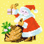 O·1122: Миколай з мішком дарунків