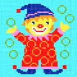 O·1211: Клоун жонглює кільцями