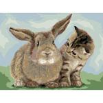 O·2421: Кролик и котёнок