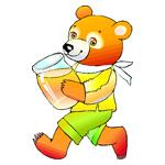 O·369: Мишка с мёдом