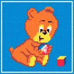 A46 Ведмедик з іграшками