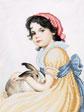 A519 Панночка з кроликом