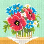 A55 Букет польових квітів