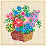 A60 Кошик із квітами