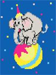 D01 Циркове слоненя