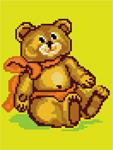 D04 Плюшевий ведмедик