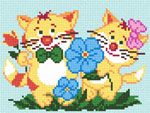 D20 Котяче подружжя