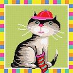 E13 Кіт у картузі