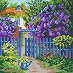 E19 Пейзаж «Хвіртка в саду»