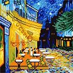 E54 «Нічна тераса кафе», В. ван Гог