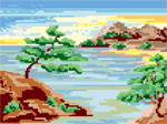 H05 Пейзаж «Японський берег»