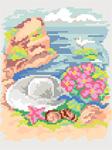 H19 Натюрморт «Капелюшок на морському узбережжі»
