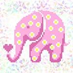 K119 Рожевий слон