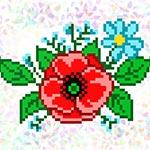 K126 Польові квіти