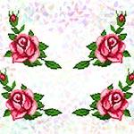 K205 Троянди (4 фраґменти)