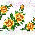 K208 Жовті троянди (3 фраґменти)