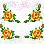 K209 Жовті троянди (4 фраґменти)