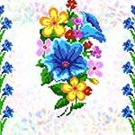 K223 Букет польових квітів (3 фраґменти)