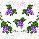 K240 Виноградне листя (5 фраґментів)