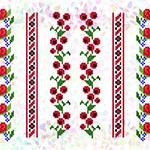 K241 Квіткові візерунки (6 фраґментів)