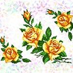 K248 Жовті троянди (3 фраґменти)