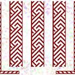 K262 * Червоний орнамент (2 фраґменти)
