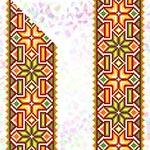 K265 Гуцульський орнамент (2 фраґменти)