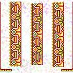 K266 Гуцульський орнамент (5 фраґментів)
