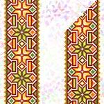 K267 Гуцульський орнамент (2 фраґменти)