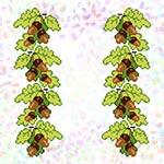 K292 Дубове листя