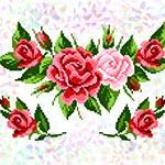 K294 Трояндовий букет