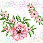 K297 Чайна троянда (2 фраґменти)