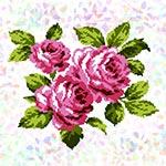 K302 Букет троянд (1 фраґмент)
