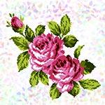 K304 Букет троянд (1 фраґмент)