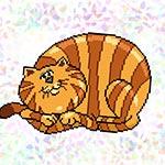 K322 Смугастий кіт (1 фраґмент)