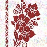 K333 Квітковий візерунок