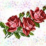 K337 Букет троянд