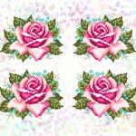 K341 Троянди (4 фраґменти)