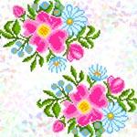 K343 Польові квіти (2 фраґменти)