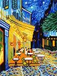 L44 «Нічна тераса кафе», В. ван Гог
