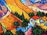 L46 «Пейзаж з будинком», В. ван Гог