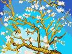 L47 «Квітучий мигдаль», В. ван Гог