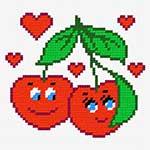 N1138 Закохані вишні