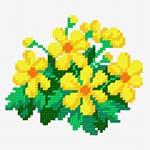 N1142 Жовті квіти