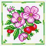 N1241 Шипшина (квіти та плоди)