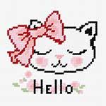 N1274 Киця Hello!