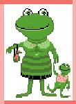 N1807 Зелена пані