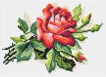 N1813 Червона троянда